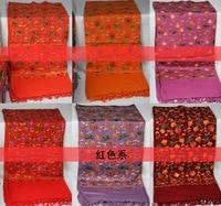 Непал национальные особенности, 100% чистый ручной вышивки, MS чистой шерсти шали шарф шелковые шарфы для женщин