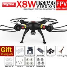 100{e3d350071c40193912450e1a13ff03f7642a6c64c69061e3737cf155110b056f} Original X8W SYMA RC Helicóptero Con X8 FPV WIFI Cámara RÉFLEX Profesional O SYMA RC Drone Quadrocopter Gimble Regalo