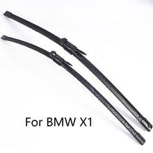 Лезвия очистителей лобового стекла автомобиля для BMW X1 E84 F48 форма 2009 2010 2011 2012 2013 автомобильный стеклоочиститель Резина