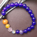 7 Chakras Reiki Stone Bracelet Chakra Yoga Bracelet 7 Chakra Stones Healing Bracelet 100% Natural Reiki Chakra Healing Stones