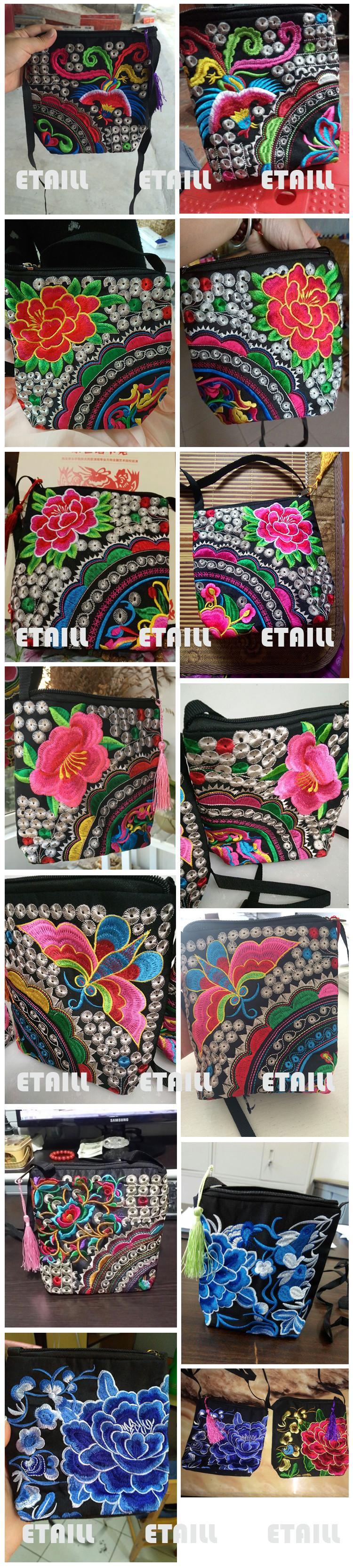 Handmade Ethnic Embroidery Shoulder bag