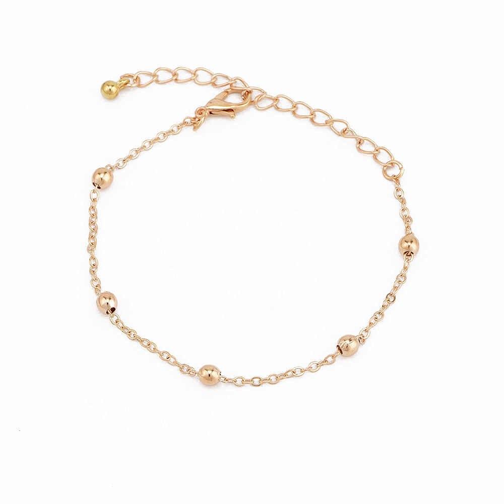 3 יח'\סט מעודן Bowknot לב חרוז חלול זהב שרשרת צמידי נשים Kawaii רב שכבתי עור צמיד סט האהבה מתנה