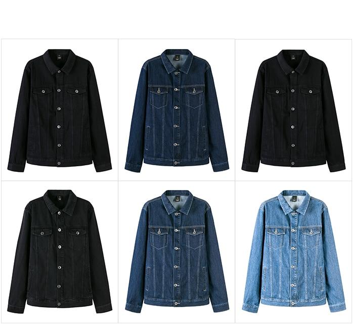 HTB1oiyeaLWG3KVjSZFgq6zTspXaU SEMIR Men Denim Jacket Men Washed Denim Jacket Classic Denim Jacket with Collar for Men Casual Fashion Spring Autumn Clothes