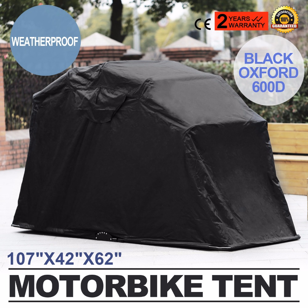 VEVOR Factory Motorcycle Motorbike Cover Motor Large Rain Waterproof Storage Shelter Bike Tent