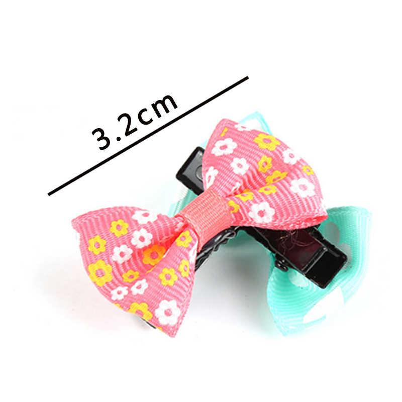 1 pieza de moda de colores para bebés recién nacidos con lazos horquillas para la cabeza bonita para niños Clips para el cabello para chico accesorios para el cabello color al azar
