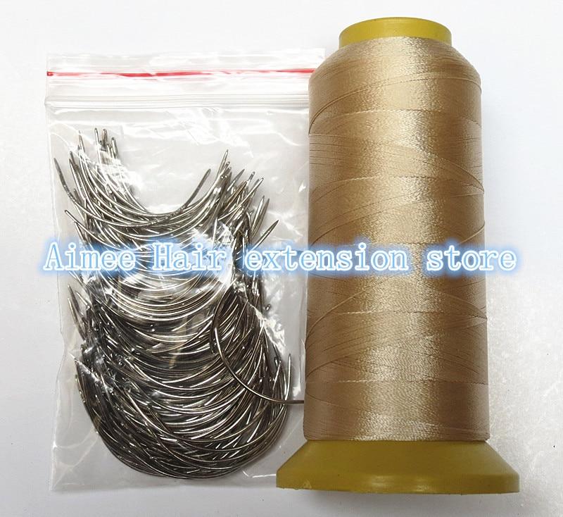 C Weaving Needles 60mm Long Shape Needles 150pcs1 Roll Blond