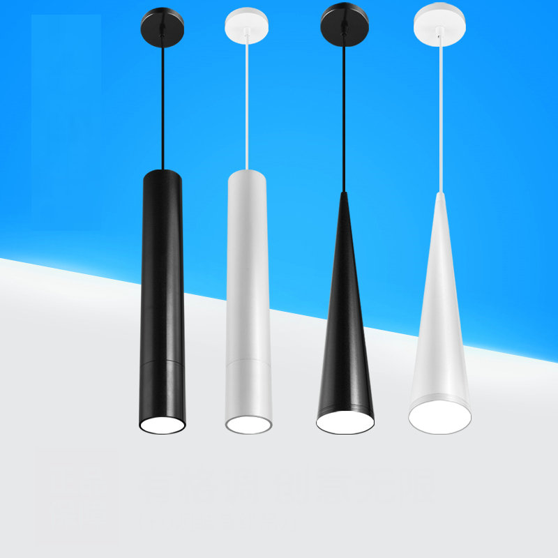 Hot sale artpad 3w7w10w12w15w cone cylinder pendant lights artpad 3w7w10w12w15w cone cylinder pendant lights ac220v black white aluminium led spotlight ceiling mount for dining room aloadofball Image collections