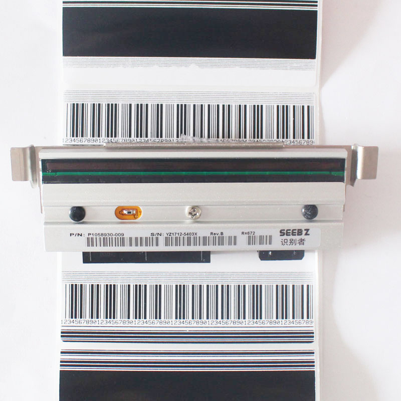 SEEBZ New For Zebra ZT410 203Dpi Thermal Printhead Compatible Barcode Label Printhead printer supplies Printhead P1058930-009 p1058930 010 new compatible printhead print head for zebra zt400 zt410 203dpi barcode printer head dhl free shipping