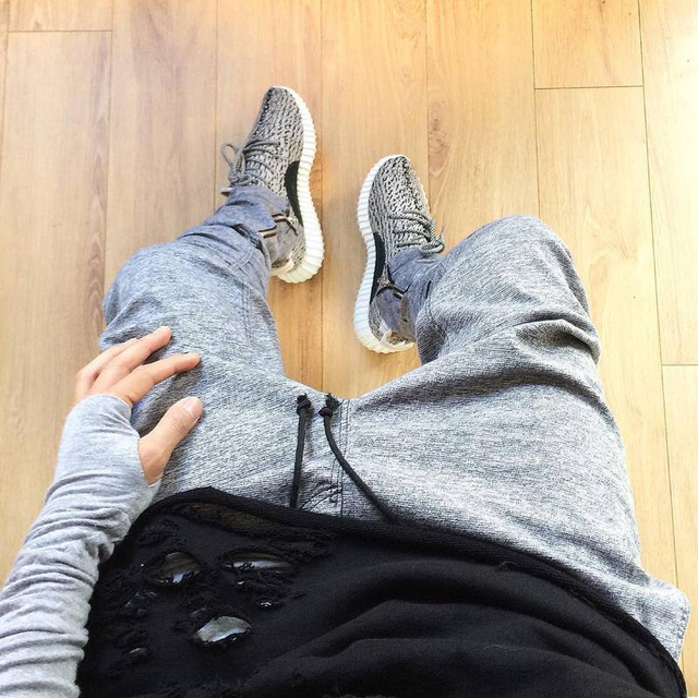 2017 Men Sweatpants justin bieber kanye  fear of god trousers Mens joggers jumpsuit urban Clothing Casual Harem Men Pants