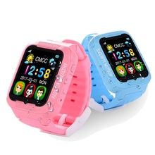 Unique Children K3 Sensible GPS Watch General Waterproof MTK2503 kids Safety GPS Tracker GPS Watch telephone with Digicam MP3