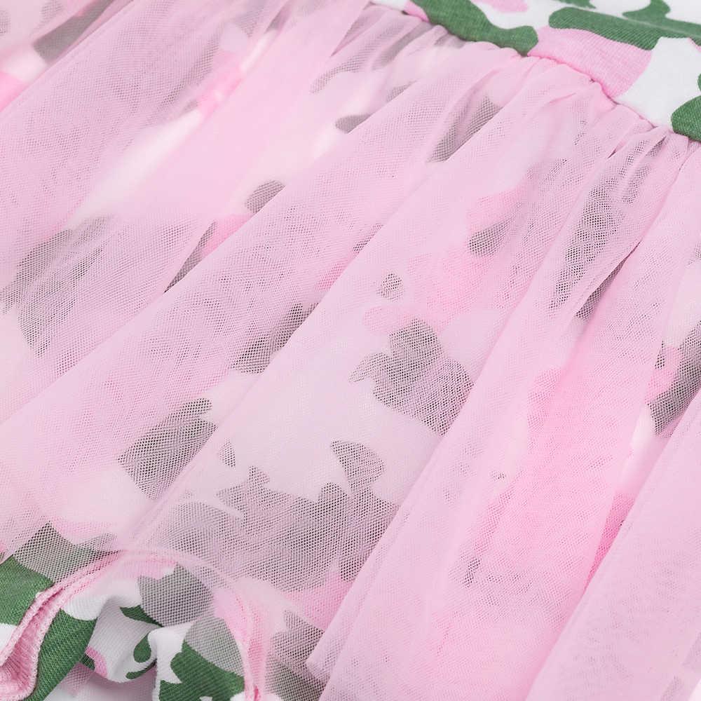 YK & Loving/модное армейское платье, боди для маленьких девочек, YK & Loving, хлопковая осенняя одежда для малышей с сеткой, Одежда для новорожденных от 0 до 2 лет