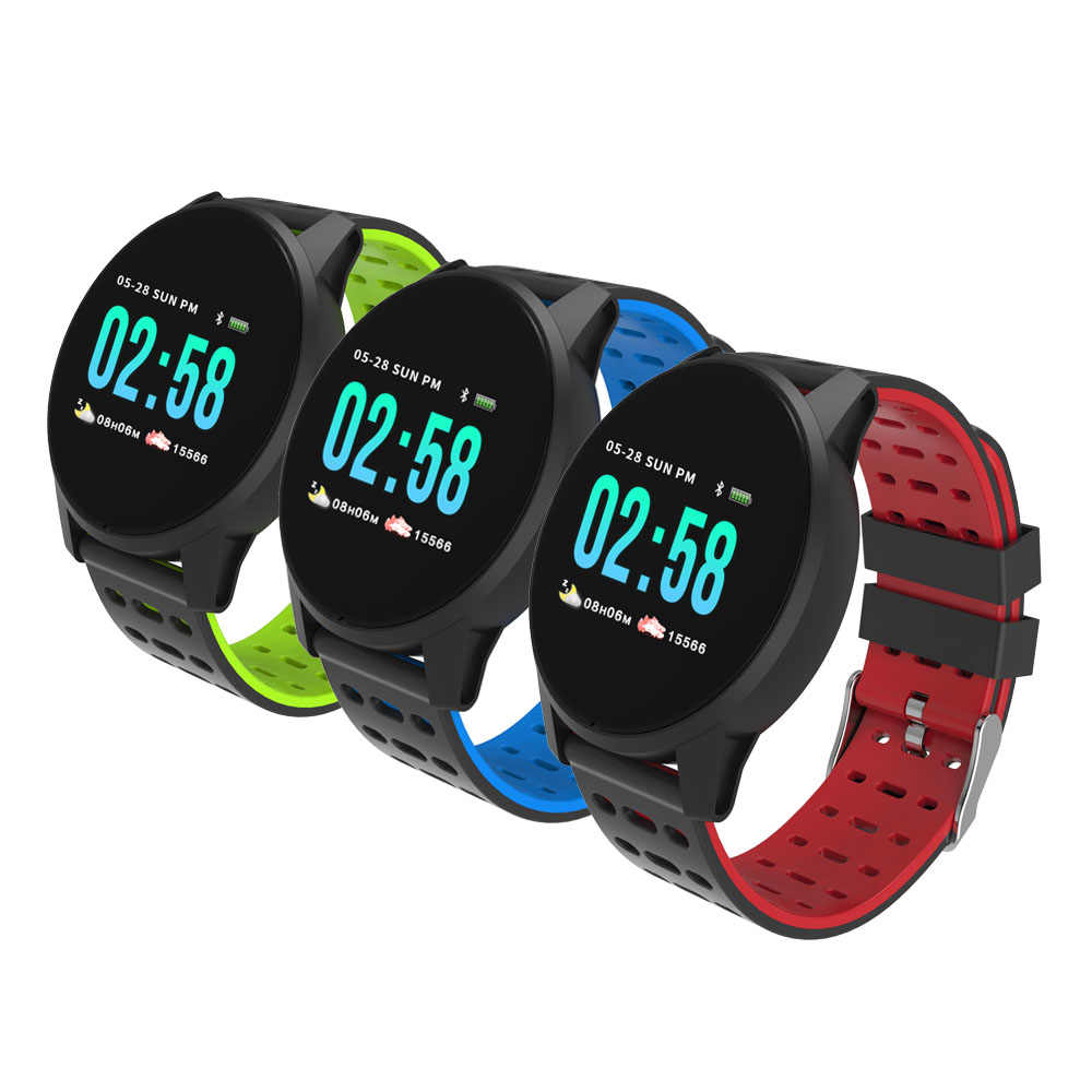 Timethinker KY108 Smart Watch Android IOS Tahan Air Pedometer Monitor Denyut Jantung Multi-Sport Kebugaran Tracker Smartwatch