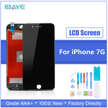 Display For iPhone 7 display lcd Touch for iphone7 Screen LCD Digizter Assembly Replacement + Tools lcd display screen replacement for philips s388 tools