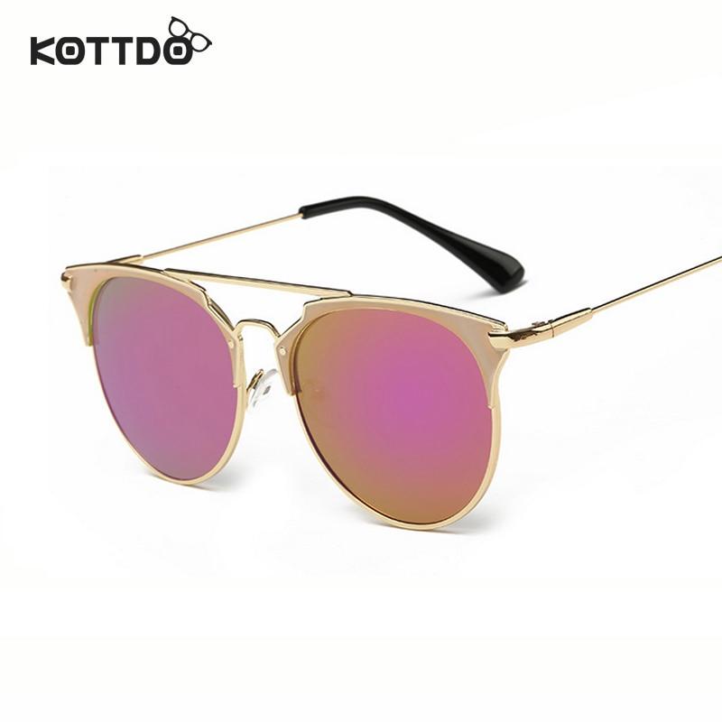 Runde Sonnenbrille mit halbem Rahmen Frauen Retro Vintage - Bekleidungszubehör - Foto 3
