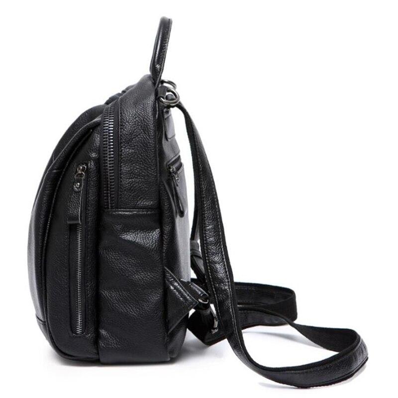 e66e96576c1e1 LUISE Brand Women Genuine Leather Bag Brand Designer Ladies Backpack ...