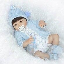 22 «полное тело силикона винил мальчик девушка куклы reborn фальшивка reborn дети куклы для детей подарок может войти в воду bebe жив boneca