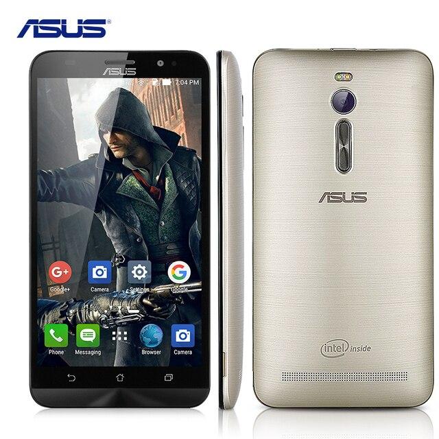 """Оригинальный Asus Zenfone 2 ZE551ML 5.5 """"Intel Atom Z3580 2.3 ГГЦ Сотовые Телефоны Android 5.0 4 ГБ RAM 64 ГБ ROM 13.0MP 4 Г Мобильный Телефон"""