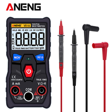V01A 4000 Counts Digital Multimeter Tester True-RMS intelligent NCV  AC/DC Voltage Current Ohm Test Tool opp 4000 lift tool service elevator test tool opp 4000