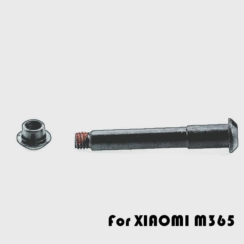 M365 per Xiao-Mi Mijia Poweka Vite di bullone fisso per monopattino elettrico di ricambio 2 pezzi pieghevole