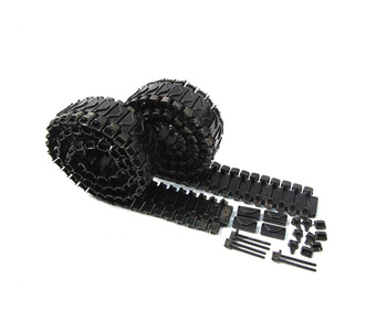 Mato 1:16 1/16 Sherman T74 metal tracks with duckbills for Heng Long 3898-1 Sherman M4A3 tank, metal spare pars, accessories