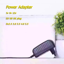 Charger Power Adapter AC 110-240V DC 5V 6V 8V 9V 10V 12V 15V 0.5 1A 2A 3A Universal Wall Adapter EU US UK plug LED light strips цена и фото