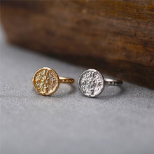 CANNER Vintage Party Ring for Women Minimalist Gold / Silver Color Round Compass Rings Fashion Jewlery R4
