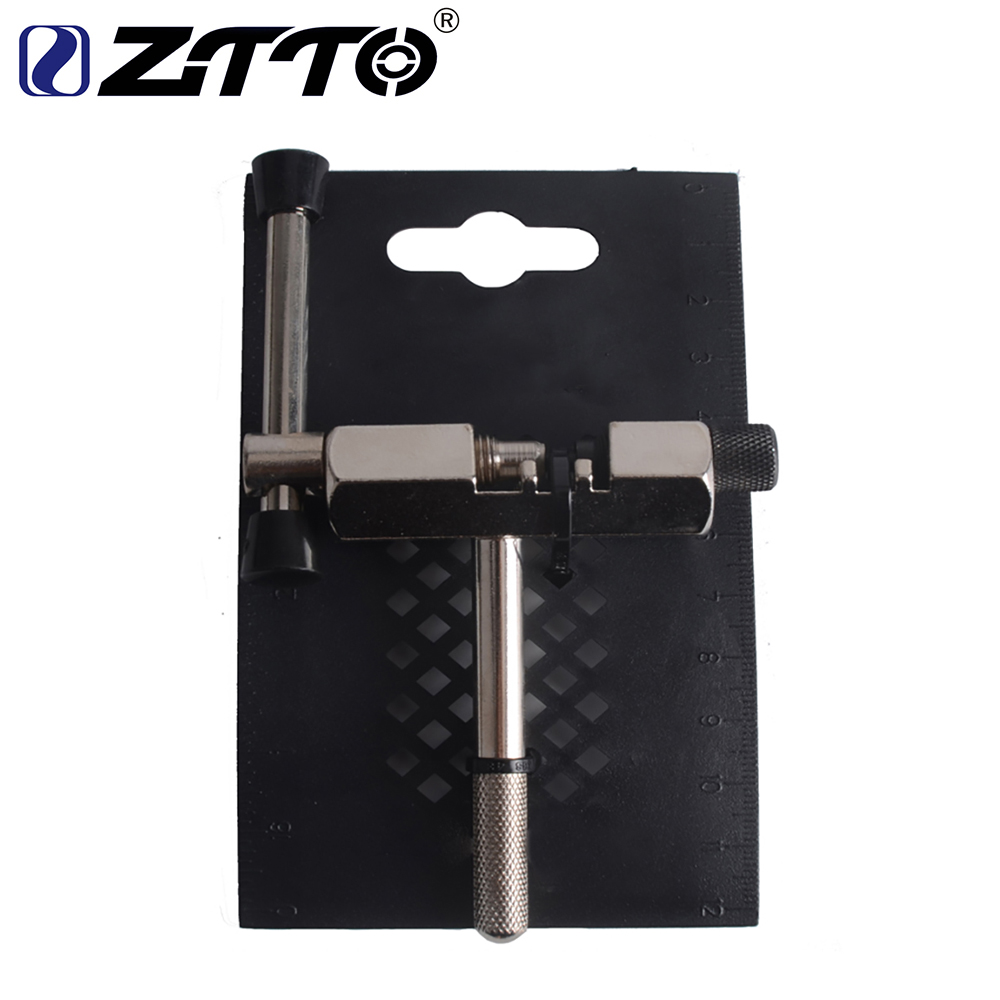 Bike Chain Removal Tool, Bicycle Cycling Steel Chain Pin Splitter Breaker Cutter Repair Remover for Home Outdoor Personal Use