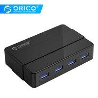 ORICO 4 Ports USB3.0 HUB 5 Gbps Super Speed Portable USB Splitter Hub For Laptop Desktop Peripherals USB Data Transmission