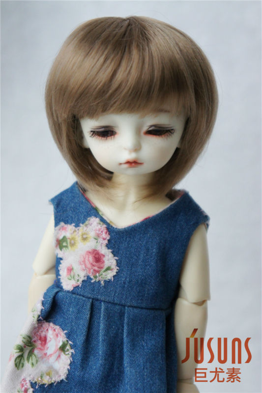 JD025 - 1/6 Short cut  Doll wig with bangs,YOSD100% synthetic mohair wig  6-7 inch doll accessories BJD wigs антенна l 025 62 атиг 7 1 1 60 42