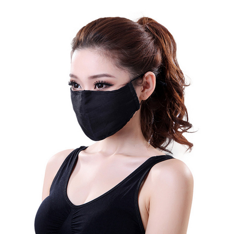 * Tcare Fashion Cotton PM2.5 Anti haze smog mouth Dust Mask + * Activated carbon filter paper * bacteria proof Flu Face Mask 11