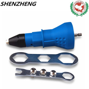 Image 1 - riveter parts tips screwdriver and drill tip DRILL ATTACHMENT  drill for nozzle