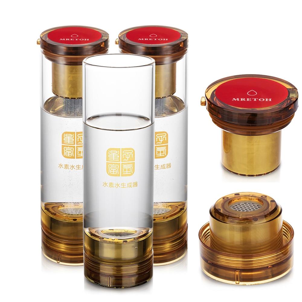 Hydrogen peroxide + MRET OH Molecular Resonance Effect Technology Hydrogen generator Discharging electrolytic harmful substances