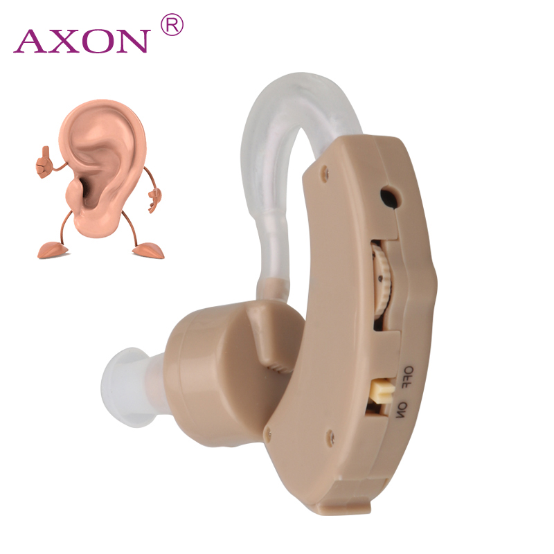 AXON Hearing Aids Aid Kit Behind The Ear Sound Amplifier Sound Adjustable Device Time-limited Amplifier Adjustable axon