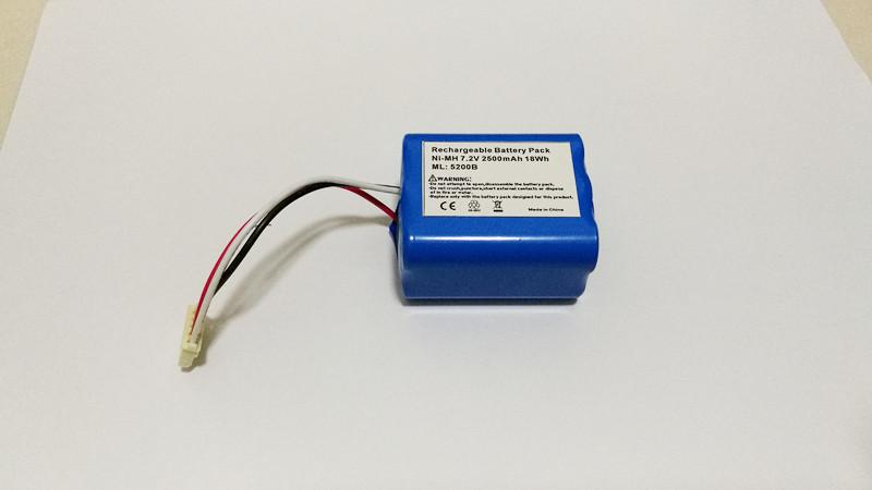 7 2V 2500mAh Ni MH Replacement Battery Pack For IRobot Mint 5200 5200B 5200C Braava 380t