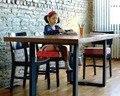 Детские и дети увеличение высота сиденья пэт детей увеличилось стул площадку регулируемый съемный детские столовая подушки