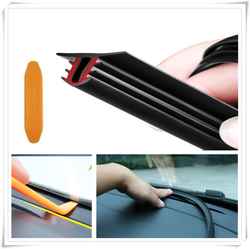 1.6M Car Dashboard Strip Front Sealing Rubber for Peugeot 206 307 406 407 207 208 308 508 2008 3008 4008 6008 301 408