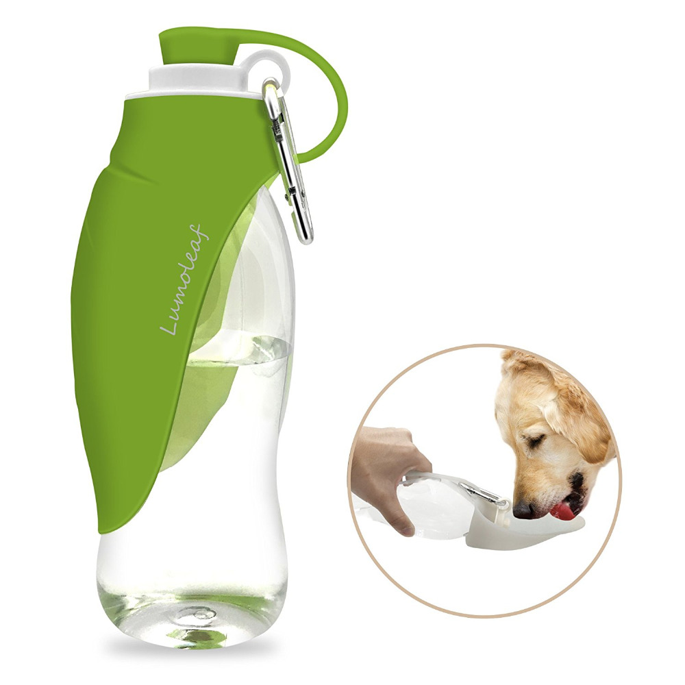 Portable Pet Dog Cat Travel Drinking Water Bowl Bottle: 650ml Sport Portable Pet Dog Water Bottle Expandable