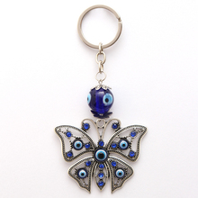Lucky Eye Erfly Keyring Evil Charms Key Chain Bag