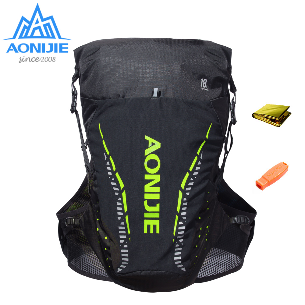 AONIJIE C943 Outdoor Lightweight Hydration Backpack Rucksack Bag Vest for 2L Water Bladder Hiking Camping Running