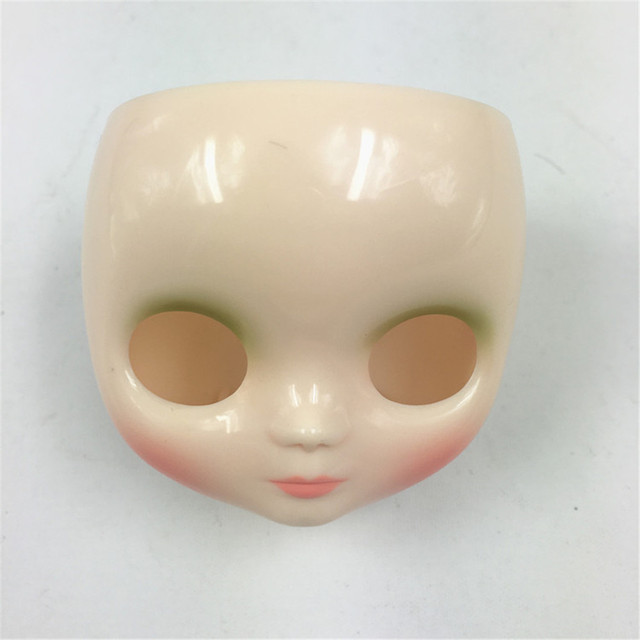 Middie Blyth Faceplate with the Back of the Surface Shell and Screw White Transparent Skin