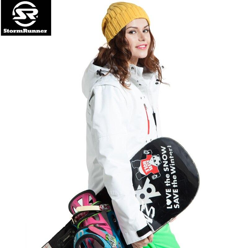 Garantie Authentique! Vestes de Ski pour femmes vêtements de Snowboard hiver chaud épais imperméable respirant vêtements de Ski femme