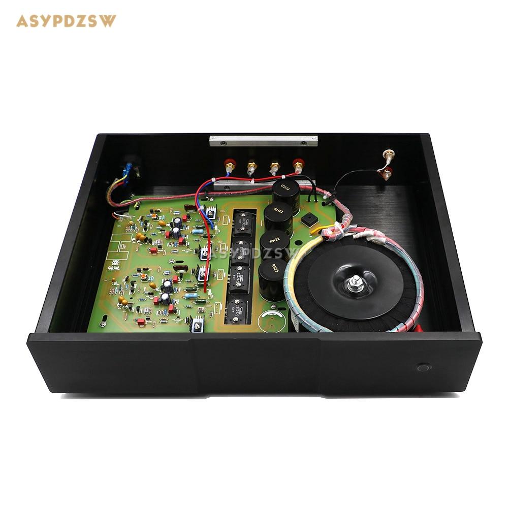 Stereo NAP200 Power amplifier base on UK NAIM Black Box Power amp finished machine 75W+75W wholesale new 2pcs nap 140 classic naim clone audio power amplifier 100w 100w 4ohm 40v diy kit