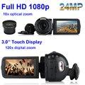 "Free Shipping Winait HDVZ80 High resolution 3"" TFT Display full hd 1080p 5.1MP pixels Anti-shake Digital Video Camcoder Russia"