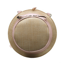 Women Hat Straw Bag 2019 Rattan Bags Chic Summer Beach Boho Travel Shoulder Bag Crossbody Lady Totes Sac a Main Luxury Designer