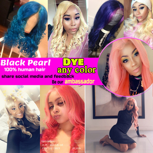 Image 5 - Zwarte Parel Braziliaanse Hair Weave Bundels Golvend Remy Human Hair 613 Bundels Hair Extensions 100g Blonde Bundels Body Wave