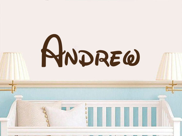vinyl decals sticker personalized baby name decor custom wall