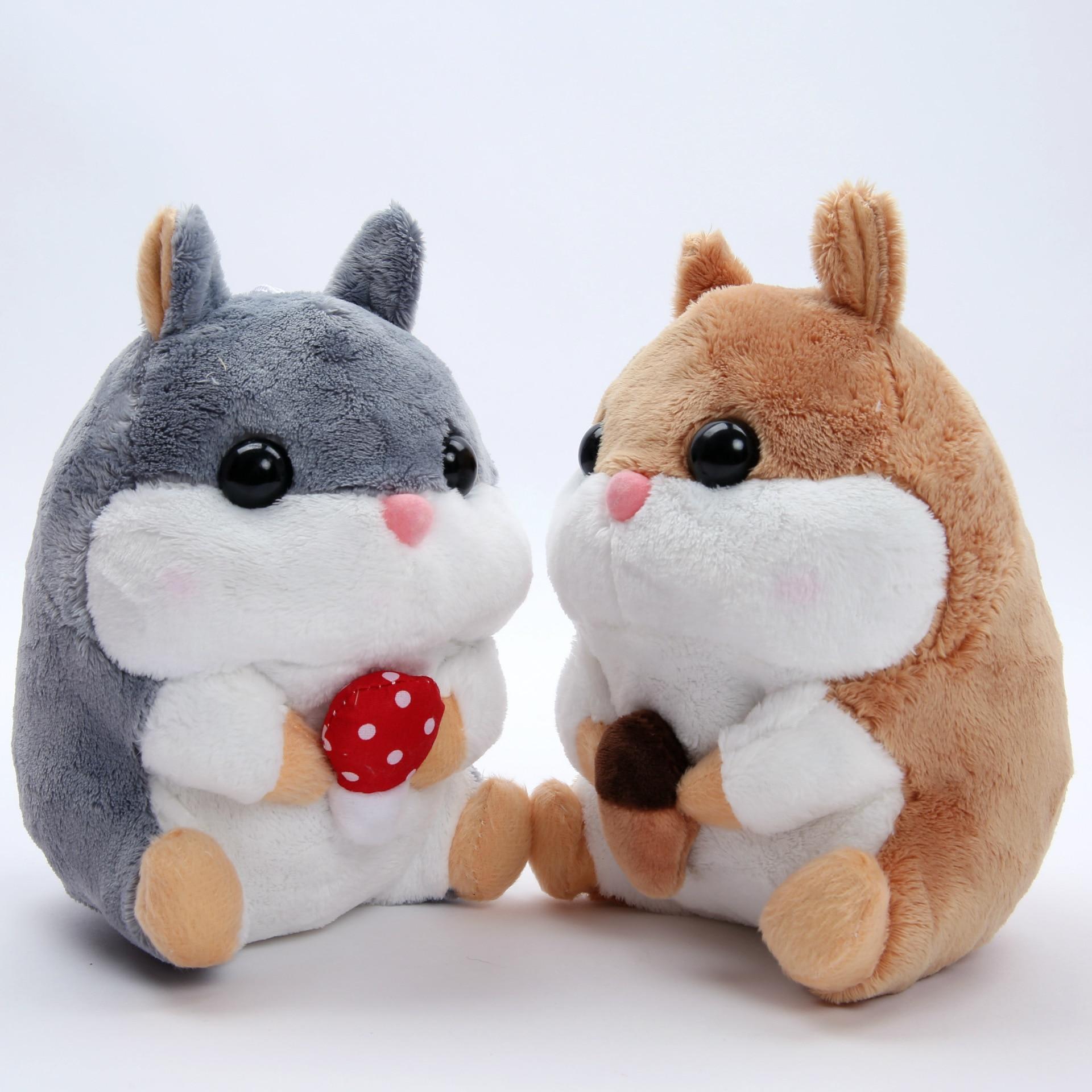Candice Guo Super Cute 20cm Amuse Healing Hamster Plush