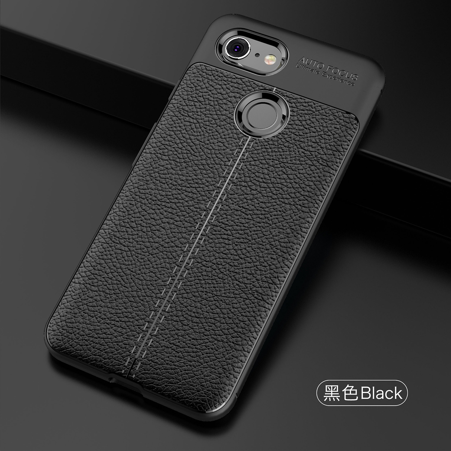 Soft TPU Case For Google Pixel 3 Case Leather Texture Silicone Phone Cover For Google Pixel 3 Business Coque Pixel3 5.4