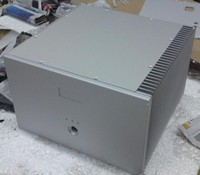 D 062 Квинсуэй TLS 250 моно алюминиевый усилитель мощности шасси/AMP Корпус/коробки DIY 320 мм * 216 мм * 310 мм 320*216*310 мм