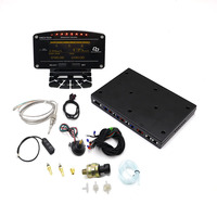 10 In 1 New Style Auto Sports Digital Meter OLED Digital Tachometer Full Sensor Kit Eelectrical